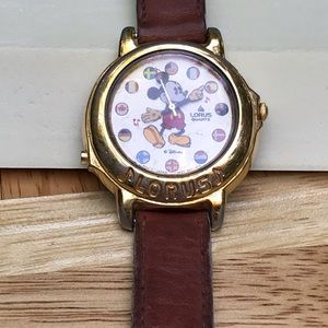 It's a Small World Song in Chimes Mickey Watch